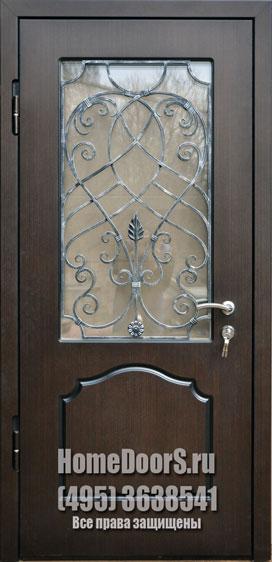 металлические двери со стеклом одинцово